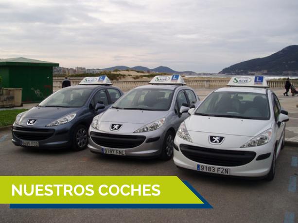 Autoescuela Salvé coches